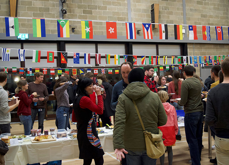 The Africa Initiative puts on events bringing the whole NRP community together to celebrate diversity