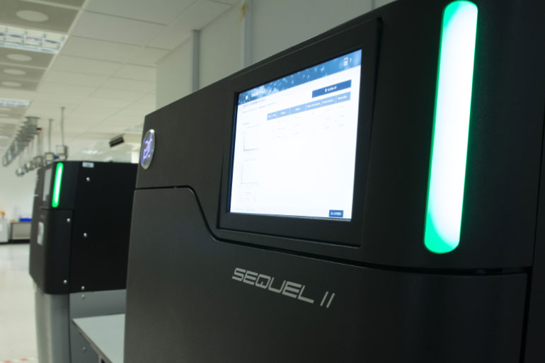 EI is at the forefront of using the latest sequencing platforms, including the PacBio Sequel II
