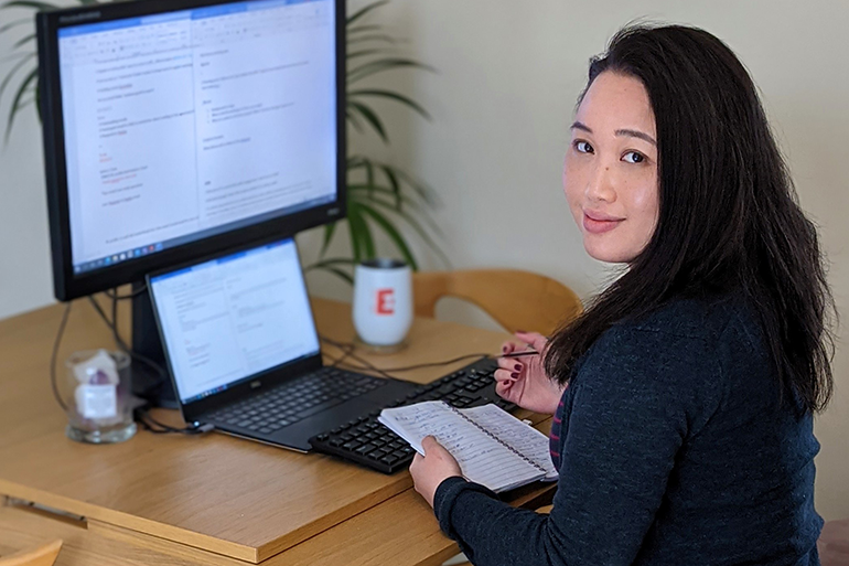 Image: Dr Nichola Wong is Business Development and Impact Officer at Earlham Institute.