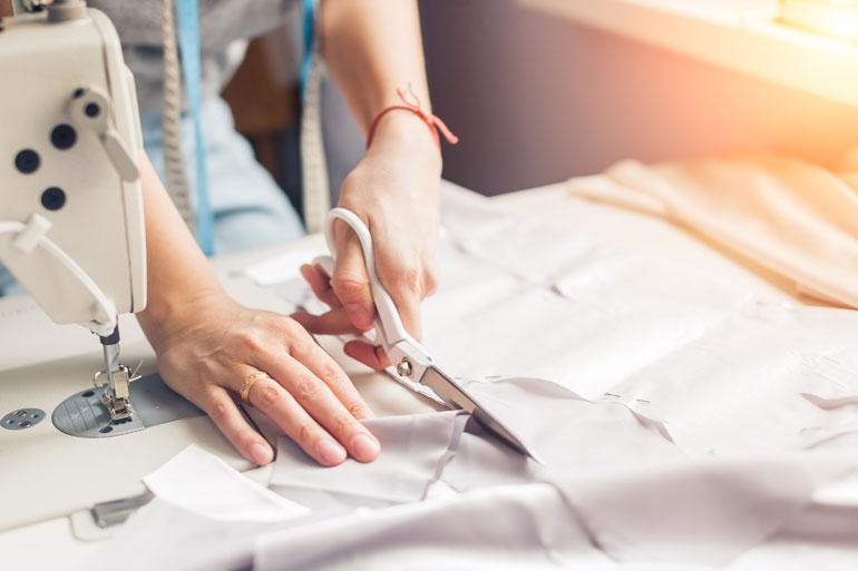 Laura is an aspiring dressmaker.