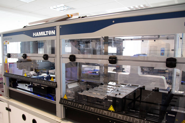 Automation in the Earlham DNA Foundry