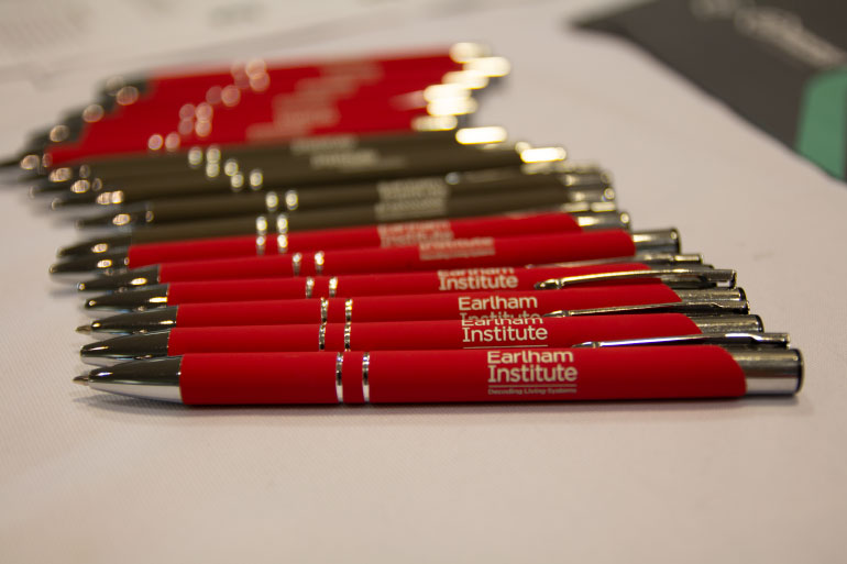If you come to an EI Innovate event, you not only get great science, you get great pens.