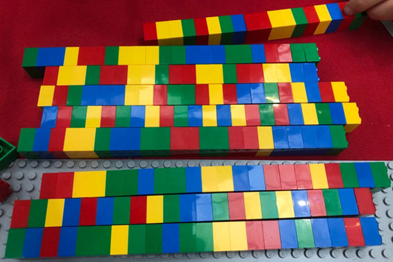 LEGO DNA sequences