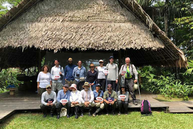 The GROW socioeconomic programme team in the Colombian Amazonia