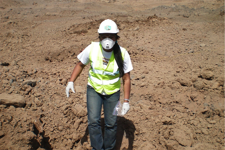 Image: For Larke-Mejía soil health has been a lifelong passion.