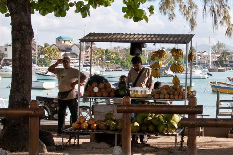 Mauritian market