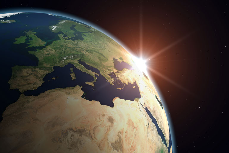 Public engagement can help to override misconceptions such as the sun rotating around the earth