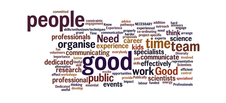 Scientists opinions on the value of public engagement