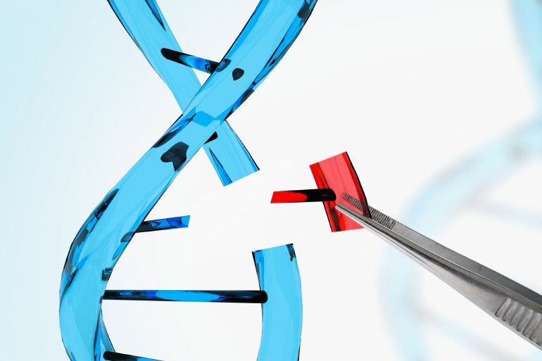 Insertion of DNA