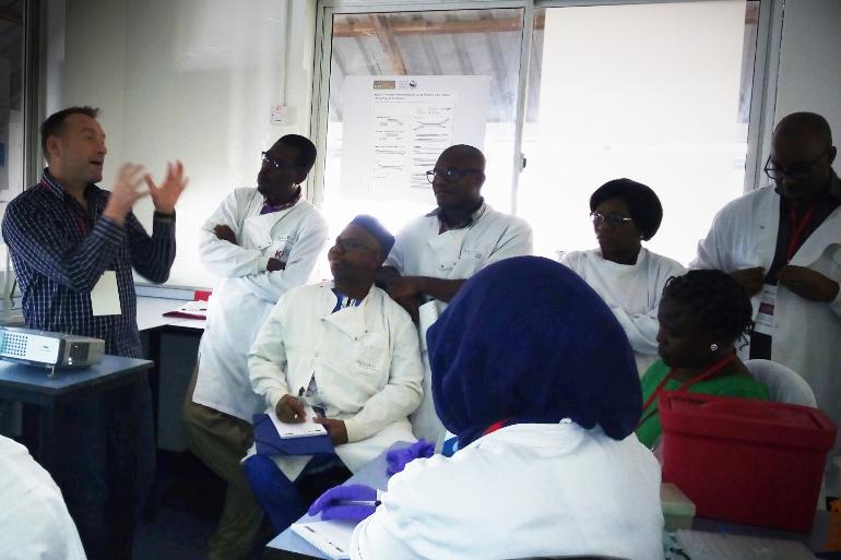 David Baker - Bioinformatics training in Africa