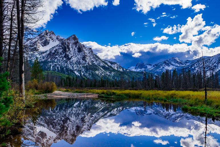 McGown peak near Stanly, Idaho