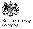British Embassy Colombia logo