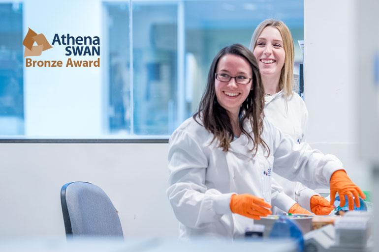 Earlham Institute receives Athena SWAN Bronze Award for gender equality