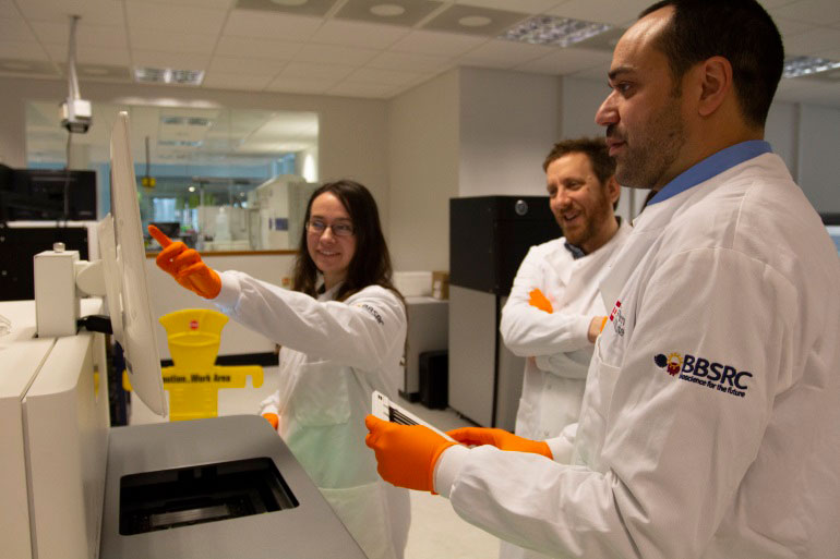 EI boost National Capability in Genomics and Single Cell Analysis with ultra-high throughput sequencing platform