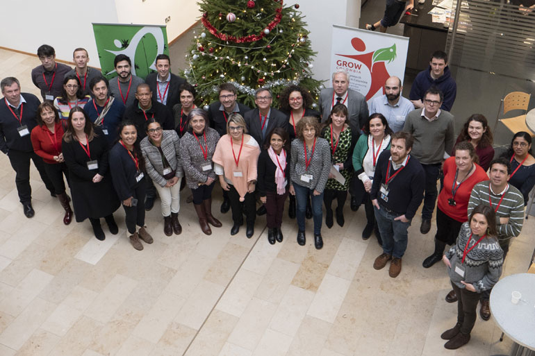 Earlham Institute host Colombian science delegation to drive sustainable innovation for biodiversity