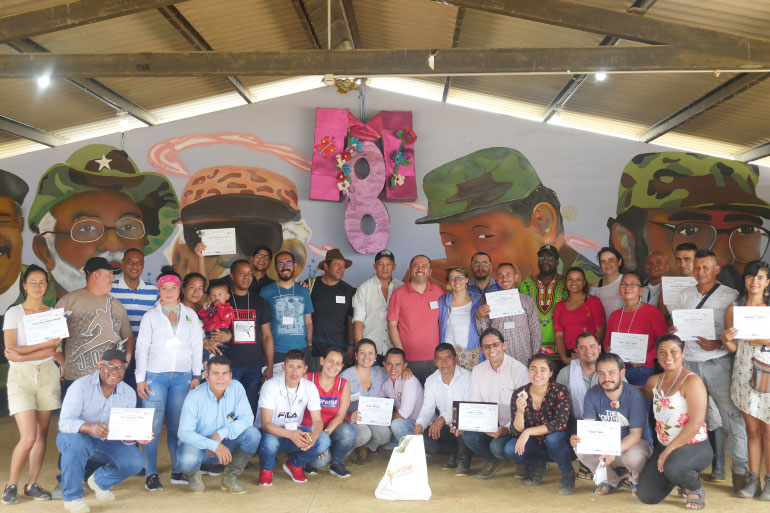 Protecting biodiversity in Colombia: former guerrilla fighters becoming citizen scientists