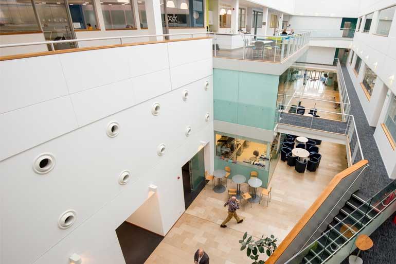 Inside Earlham Institute, Norwich, UK