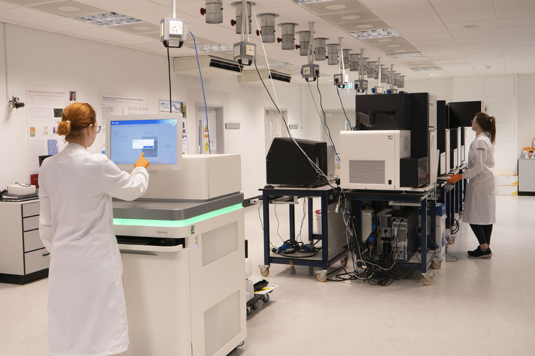 Genomics Pipelines laboratory