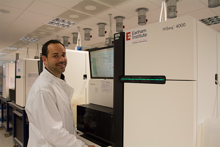 New DNA on the block: Genomics expert to lead our pioneering sequencing