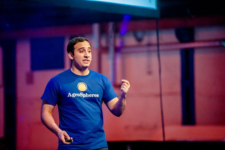 Payam Pourtaheri, Co-founder and COO - Agrospheres